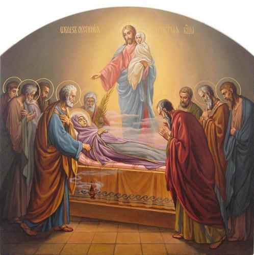 Икона Успения Пресвятой Богородицы, 1