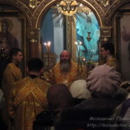 МКТВ о первой Божественной литургии епископа Павла в г. Молодечно